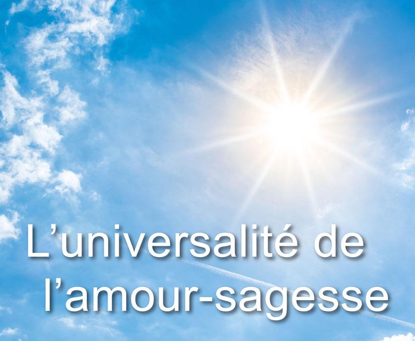Le Son Bleu N34 – L'universalité de l'amour sagesse – janvier 2019