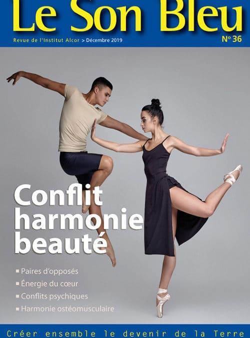 Le Son Bleu N36 – Conflit harmonie beauté – décembre 2019