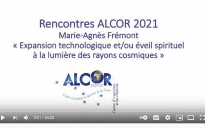 Rencontres de l'Institut Alcor 19 juin 2021